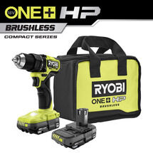 "18V ONE+ HP Compact Brushless 1/2"" Drill/Driver Kit"