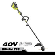 40V HP Brushless Carbon Fiber Attachment Capable String Trimmer with 4.0 Ah Battery & Charger