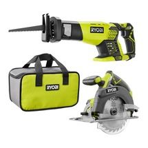 18-Volt ONE+ Cordless Combo Kit with Reciprocating Saw and 6-1/2 in. Circular Saw (Tools Only)