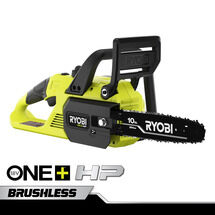 "18V ONE+ HP 10"" Brushless Chainsaw with 4Ah Battery and Charger"