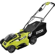 "18V ONE+™ LITHIUM+™ HYBRID 16"" MOWER WITH (2) 4AH BATTERIES & CHARGER"