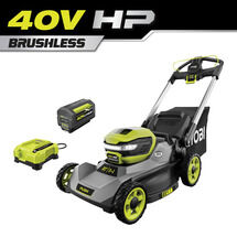 40V HP 21-inch Brushless Push Mower Kit WITH 7.5 AH BATTERY & CHARGER