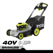 "40V HP 21"" Brushless CrossCut Self-Propelled Mower"