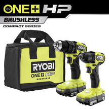 18V ONE+ HP Compact Brushless 2-Tool Kit