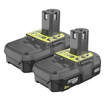 RYOBI 18V ONE+™ 2.0Ah Compact  LITHIUM™ Battery 2-Pack