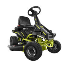 RYOBI 30-inch 50 Ah Battery Electric Riding Lawn Mower