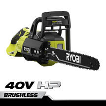 "40V HP 18"" Brushless Chainsaw with 5.0 Ah Battery and Charger"