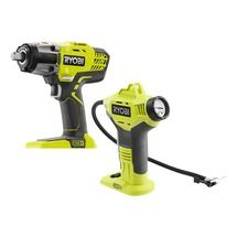 18-Volt ONE+ 1/2 Impact Wrench and Inflator (Tools Only)